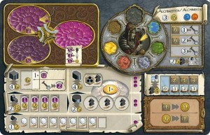 Alchemists Playing Board