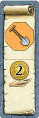 Bonus Spade + 2c Tile
